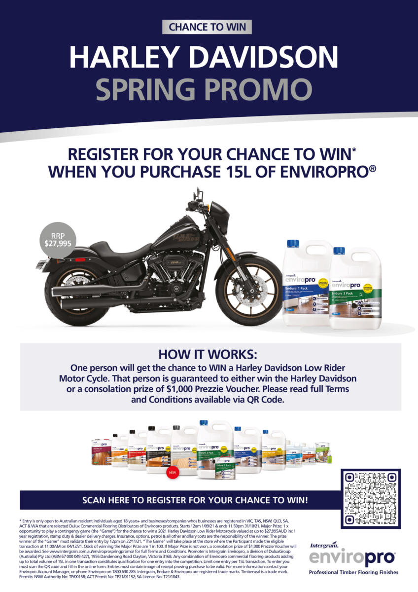 Harley-promo-for-enviropro-sept-2021